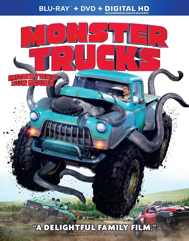 Monster Trucks now on DVD and Blu-ray