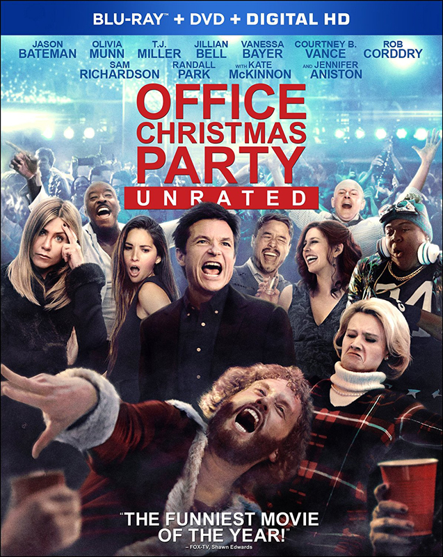 Office Christmas Party now on Blu-ray and DVD