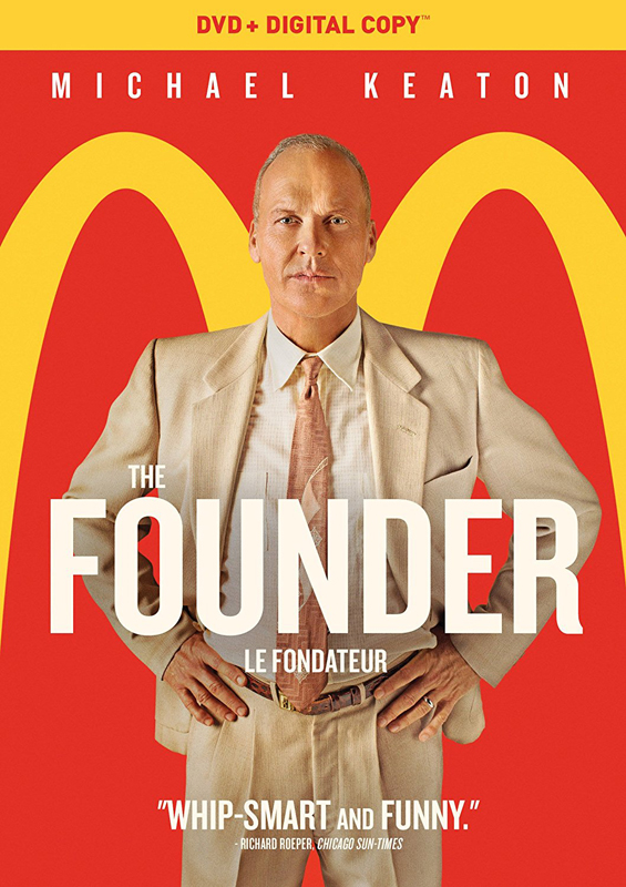 The Founder new on DVD.