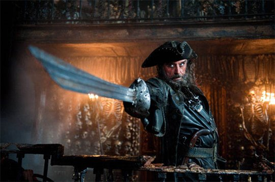 Ian McShane as Blackbeard
