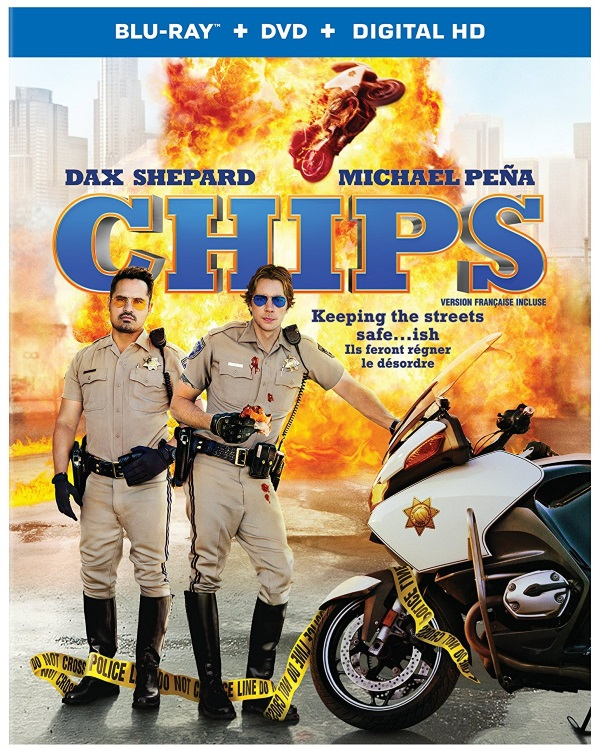 CHIPS is now available on Blu-ray