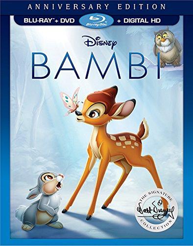 Bambi Anniversary Edition Blu-ray and DVD