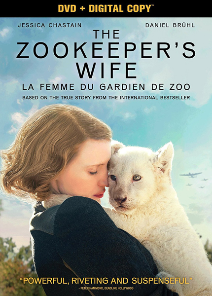 The Zookeeper's Wife starring Jessica Chastain