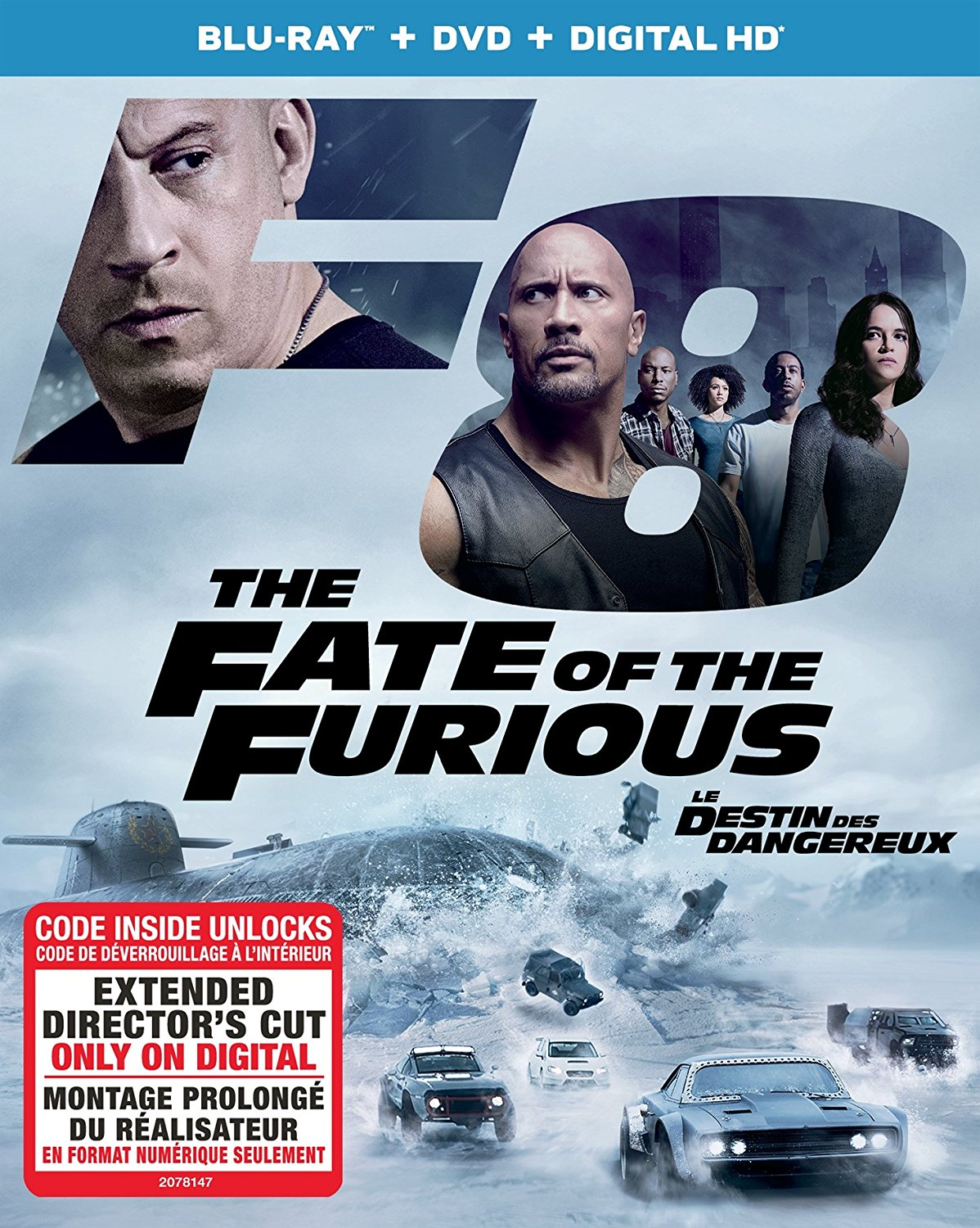 The Fate of the Furious is now available on DVD