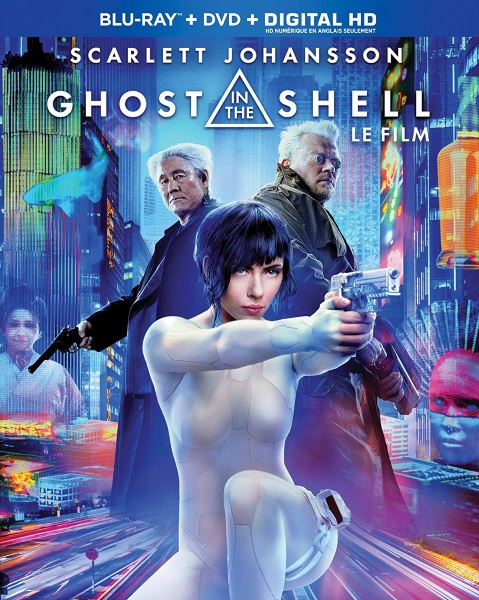 Ghost in the Shell now available on Blu-ray/DVD