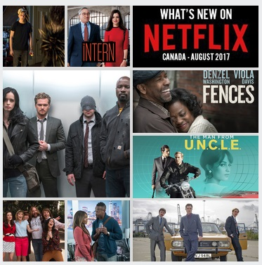 New on Netflix Canada August 2017