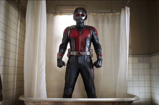 Paul Rudd as Ant-Man in 2015's Ant-Man.