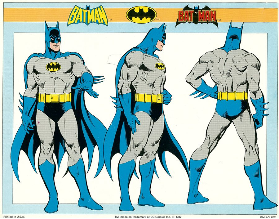 Silver Age Batman artwork
