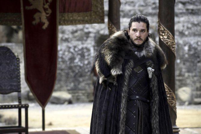 Jon Snow in the Dragonpit