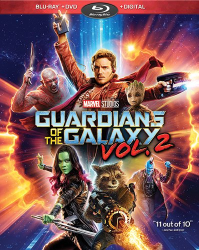 Guardians of the Galaxy Vol. 2 on Blu-ray