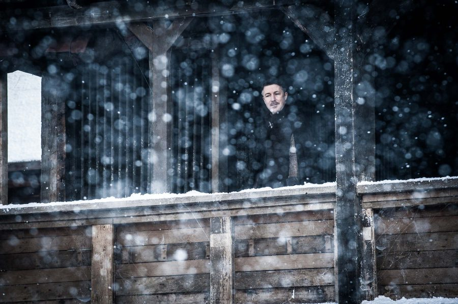Littlefinger overlooks Winterfell