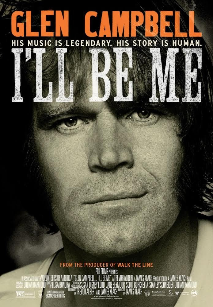 I'll Be Me documentary poster.
