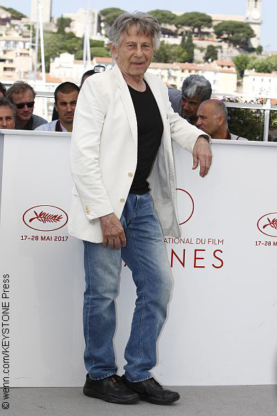 Roman Polanski in Cannes to promote his latest film
