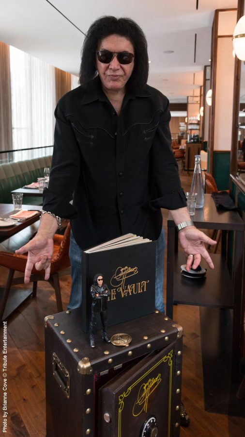 Gene Simmons at Four Seasons in Toronto with The Vault