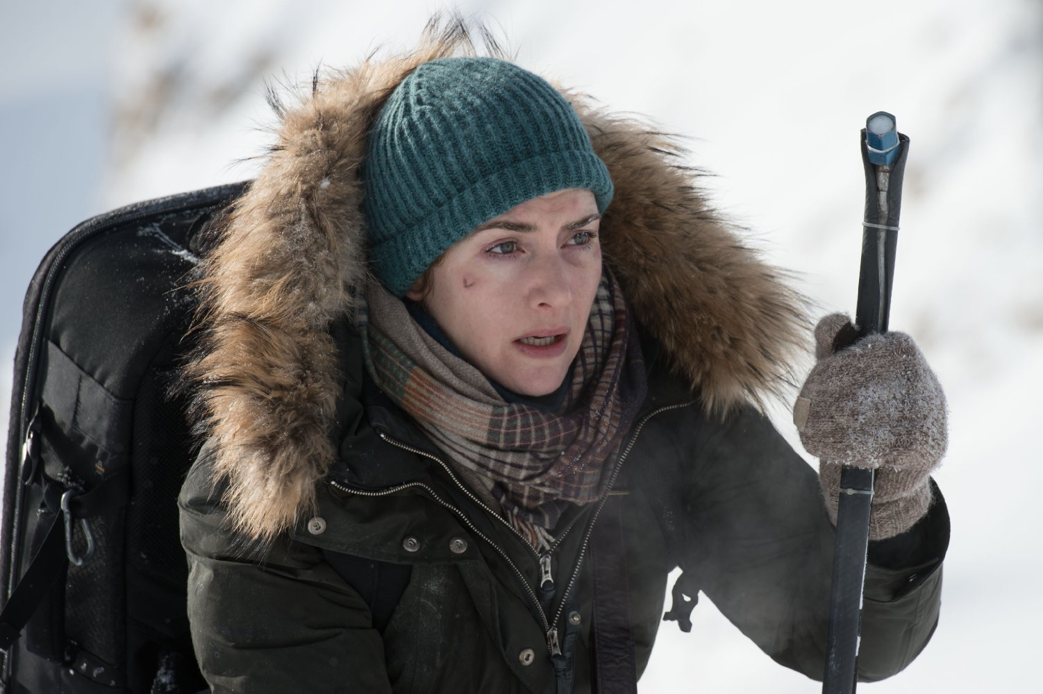 Still of Kate Winslet in The Mountain Between Us