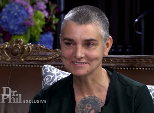 Sinead O'Connor on Dr. Phil show