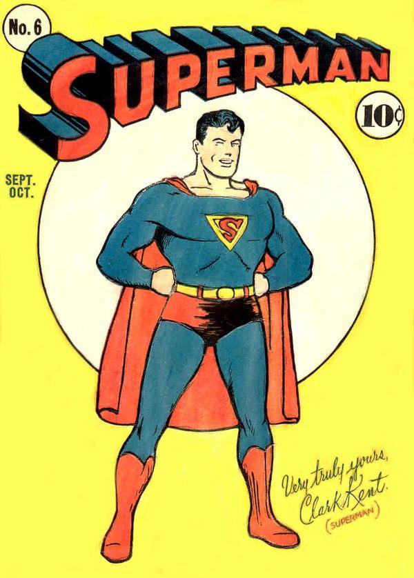 Early Superman comic