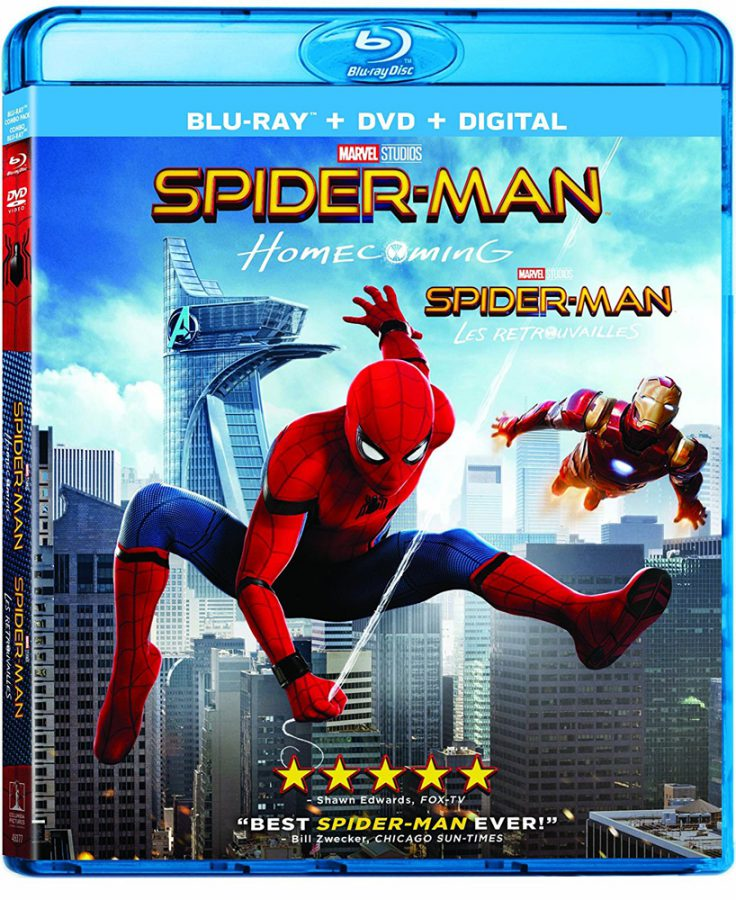 Spider-Man: Homecoming on Blu-ray and DVD