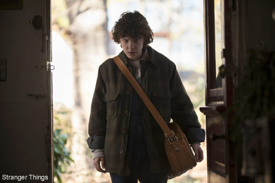 Eleven (Millie Bobby Brown) in Stranger Things