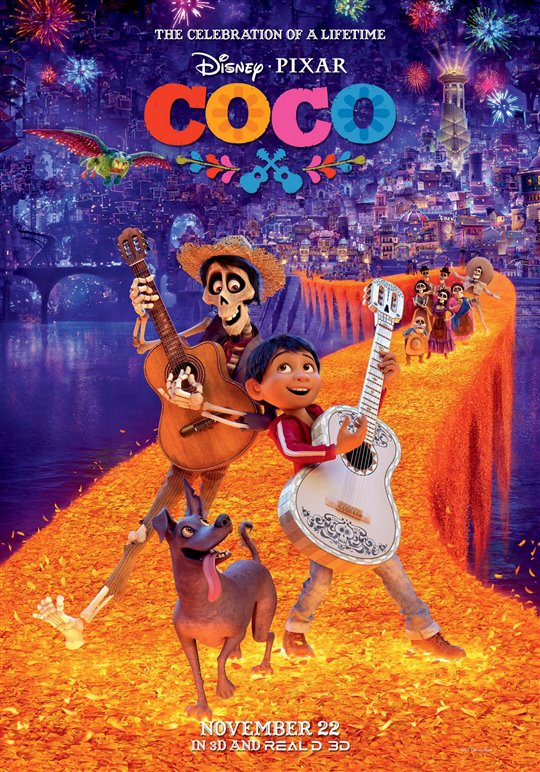 Coco takes top box office spot