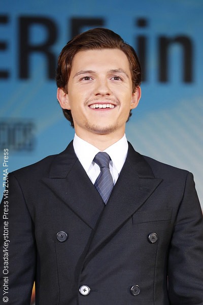 Tom Holland at the Spider-Man: Homecoming premiere in Japan