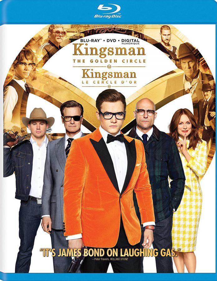 Kingsman: The Golden Circle Blu-ray
