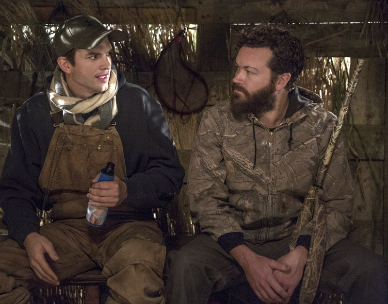 Ashton Kutcher and Danny Masterson in The Ranch