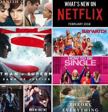 What's New on Netflix - February 2018