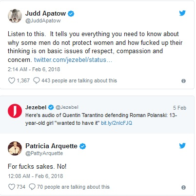 Judd Apatow Twitter