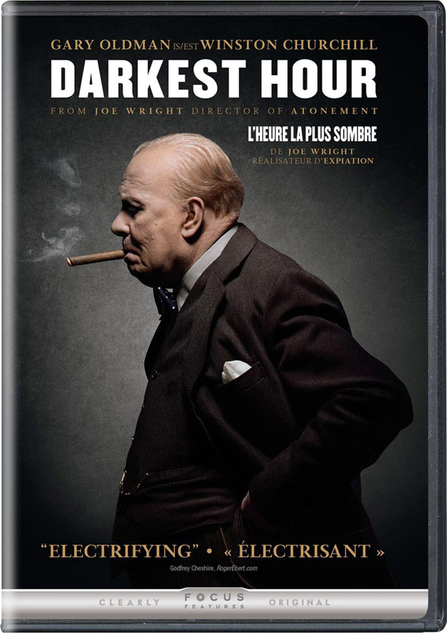 Darkest Hour on DVD and Blu-ray