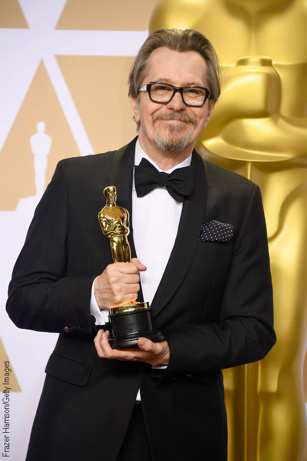 Gary Oldman at the 90th Academy Awards