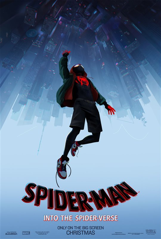 spider man into the spider verse tops weekend box office. Black Bedroom Furniture Sets. Home Design Ideas