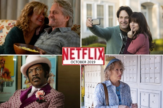 What's New on Netflix Canada – October 2019