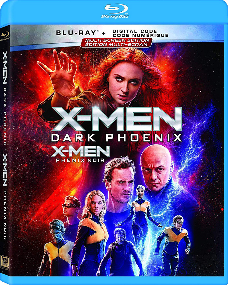 Dark Phoenix on Blu-ray
