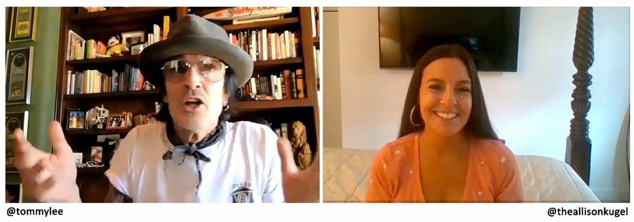 Tommy Lee and Allison Kugel