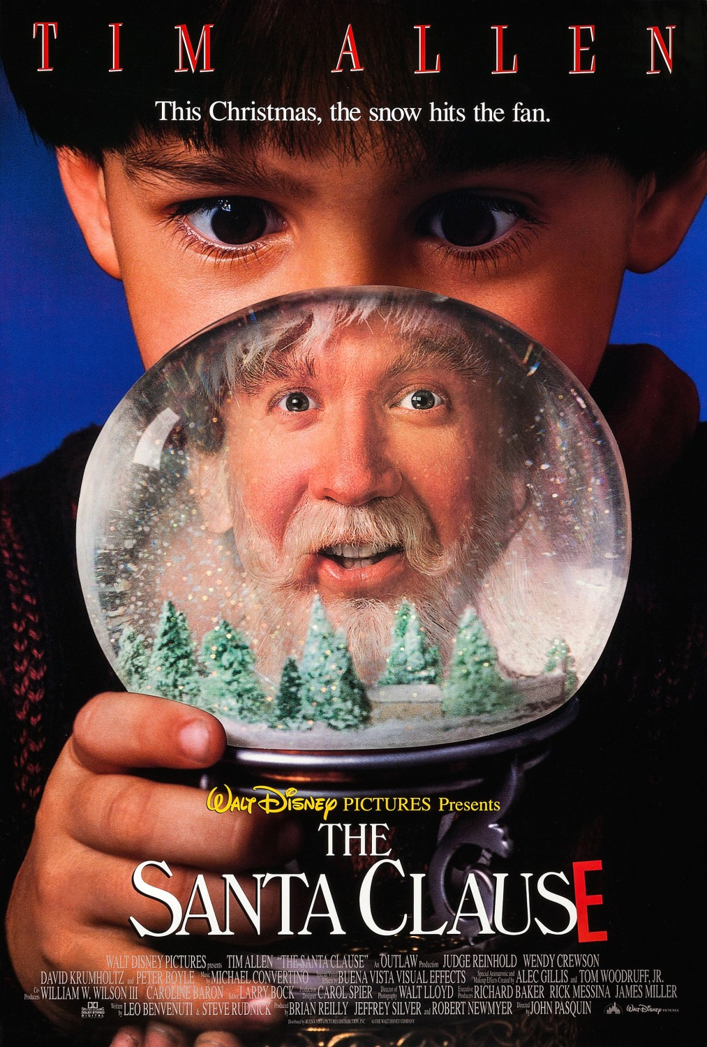 The Santa Clause returns to theaters