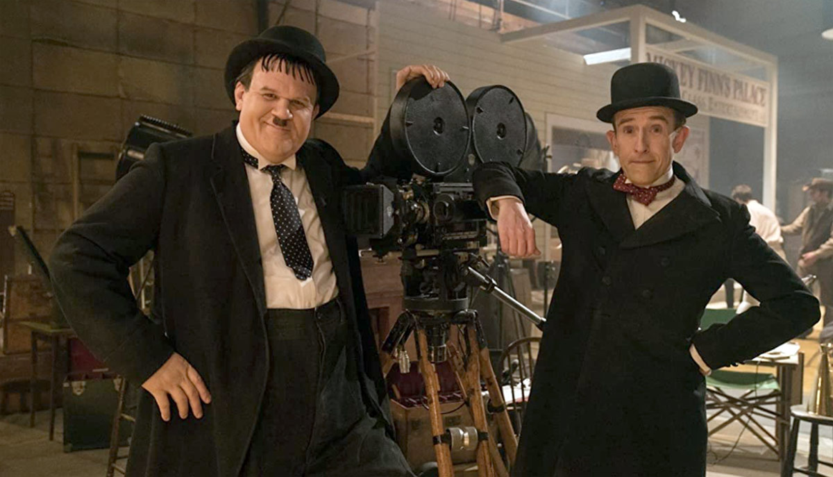 John C. Reilly and Steve Coogan in Stan & Ollie