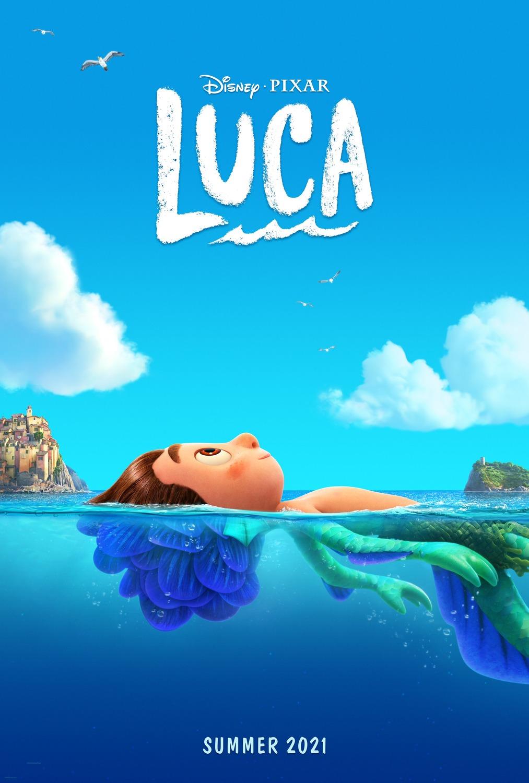 Disney/Pixar Luca poster